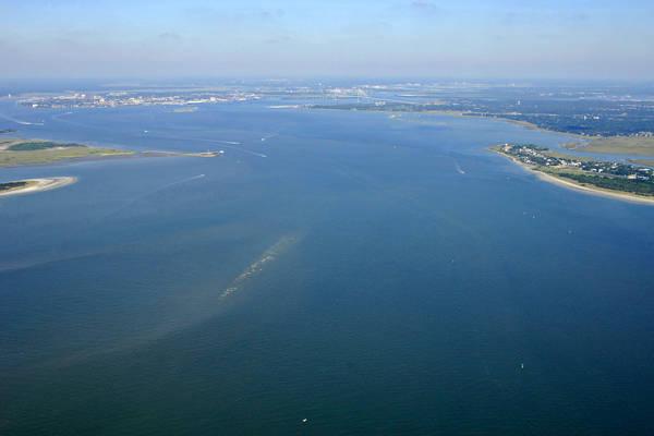 Charleston Harbor Inlet