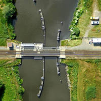 Winschoeterdiep Canal Bridge 3