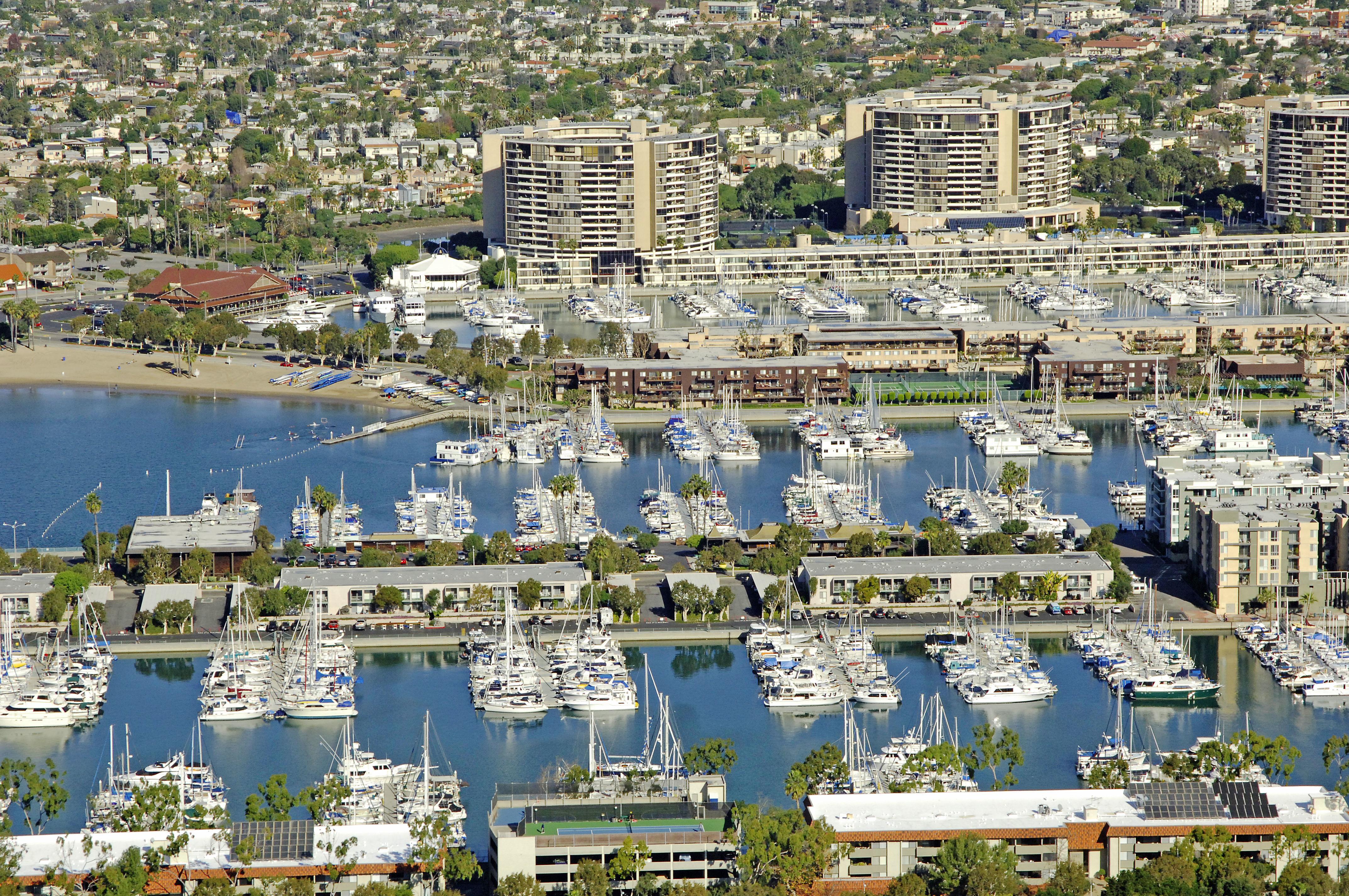 Holiday Harbor Marina In Marina Del Rey Ca United States