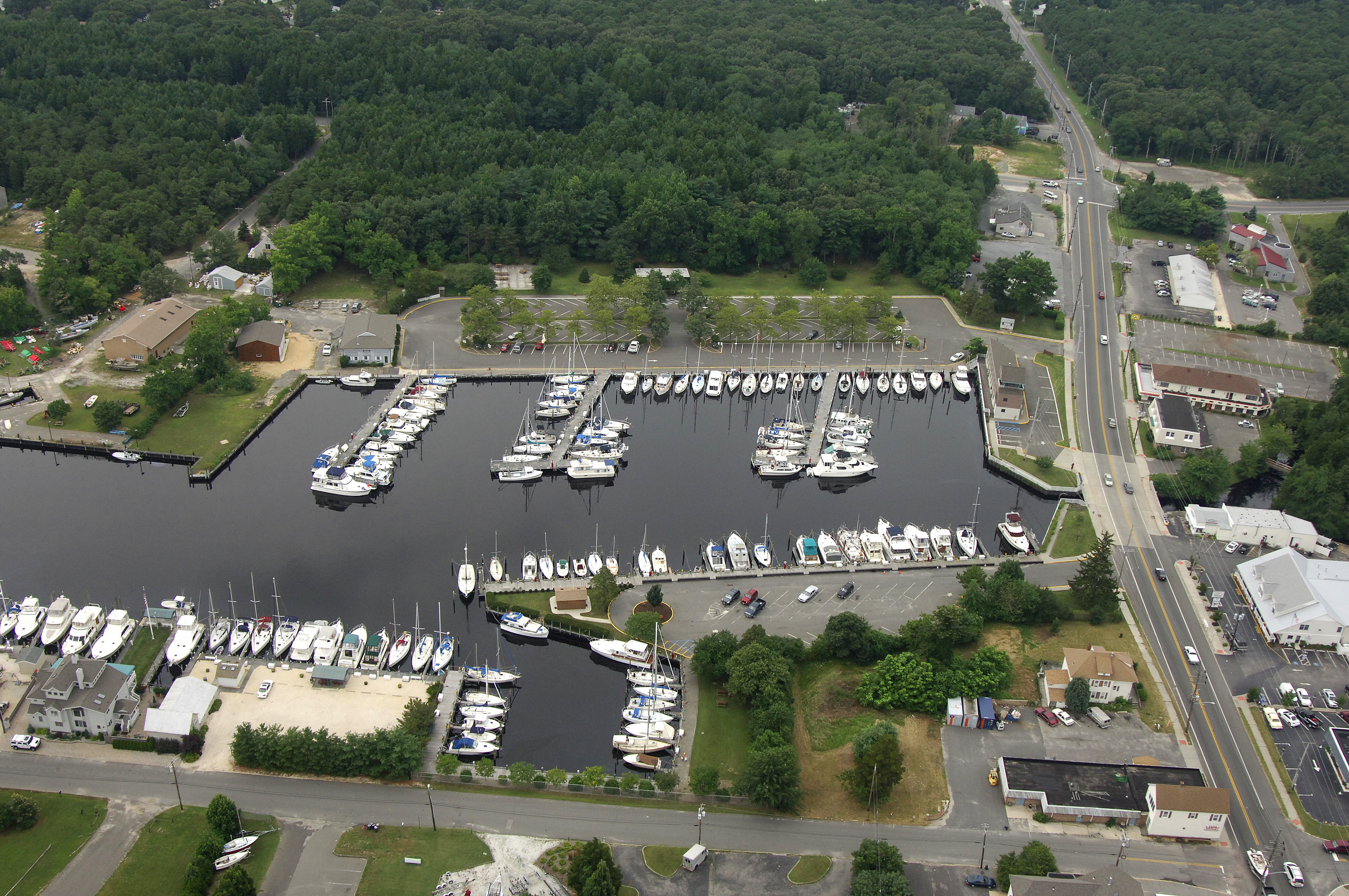 forked river state marina in forked river  nj  united