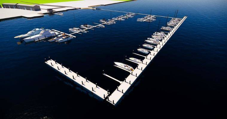 Margate Marina, Tasmania