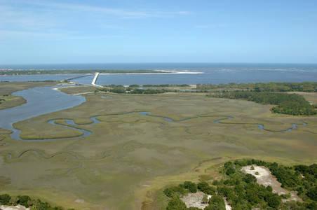 Nassau Sound Entrance (not navigable)