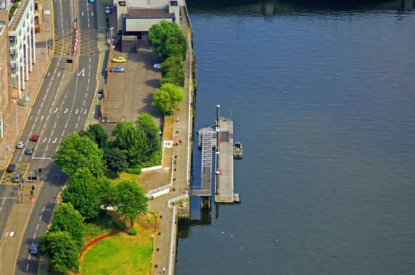 River Clyde Broomielaw Pontoon