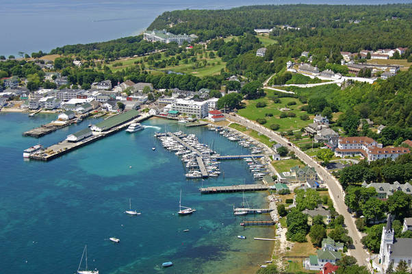 Mackinac Island State Dock