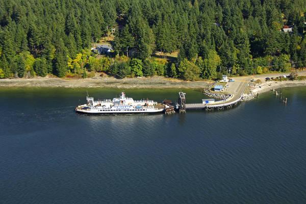 Denman Island West Ferry