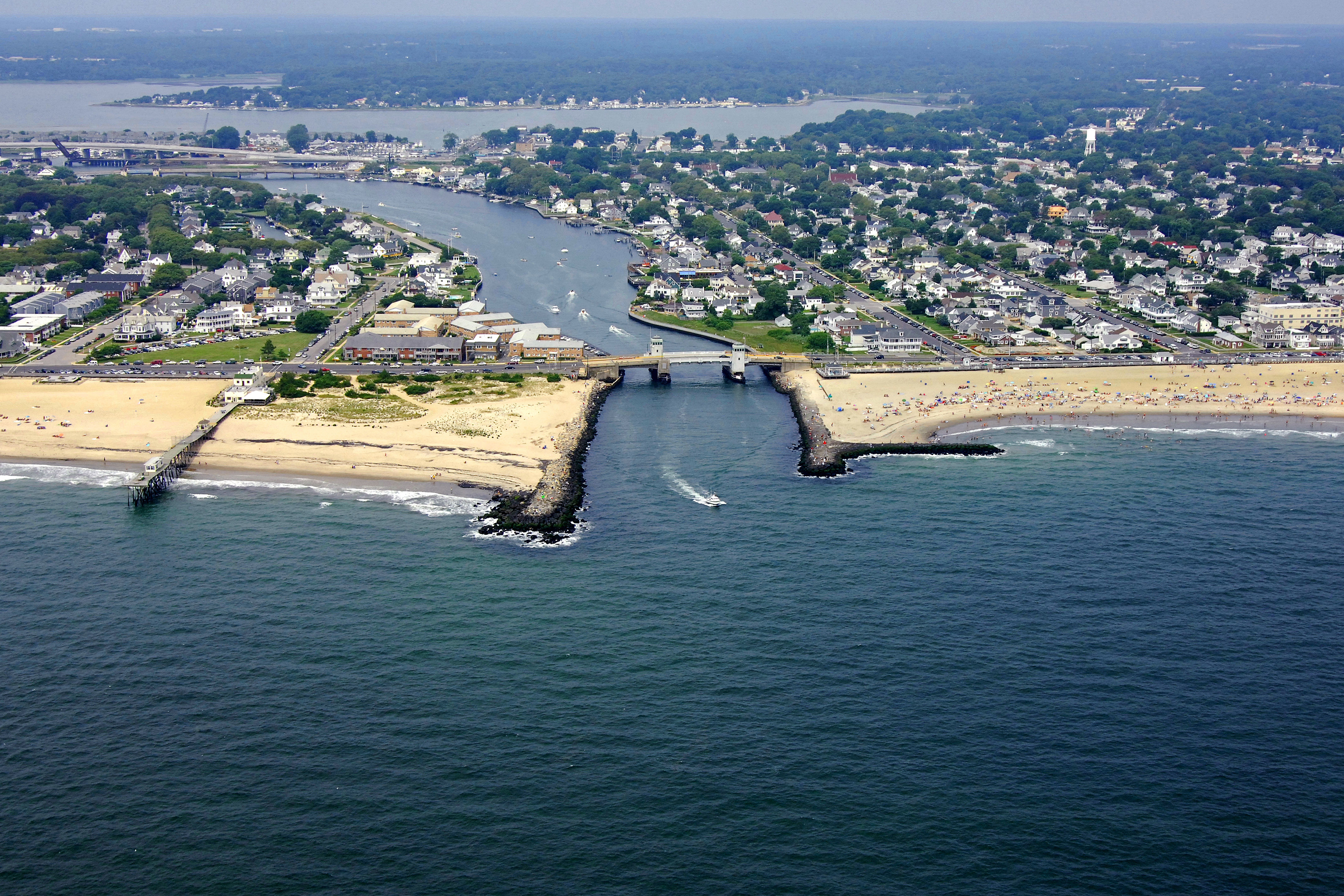 Shark River Inlet In Belmar Nj United States Inlet Reviews