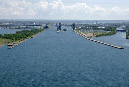 Sault St. Marie Canal South Inlet