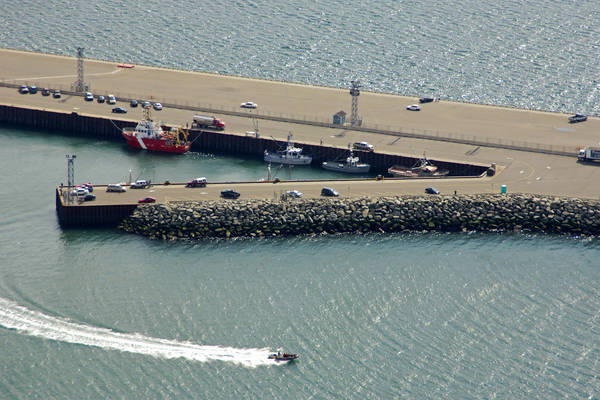 Rimouski Fishermens Wharf Harbour