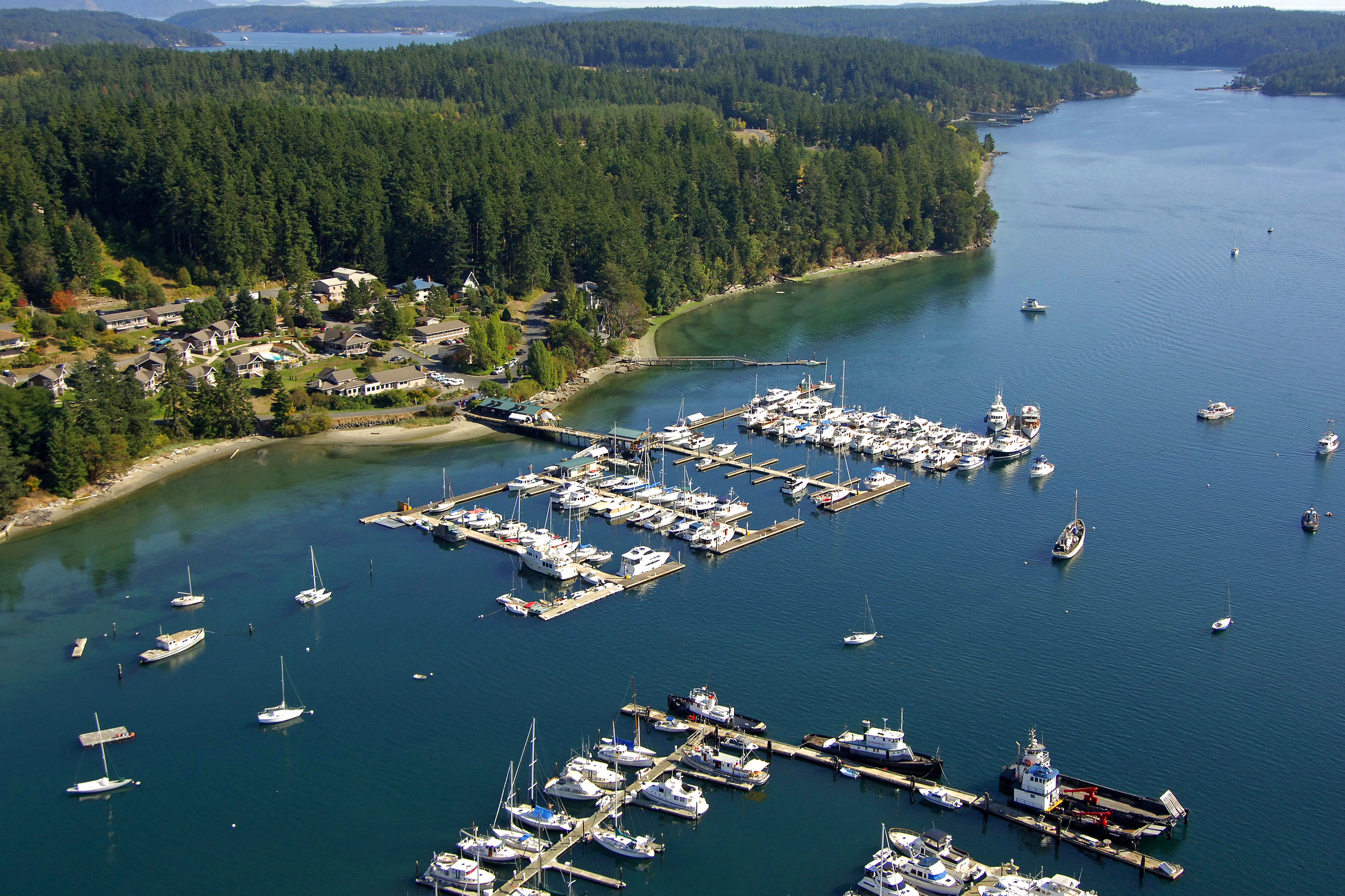 Deer Harbor Marina In Deer Harbor Wa United States