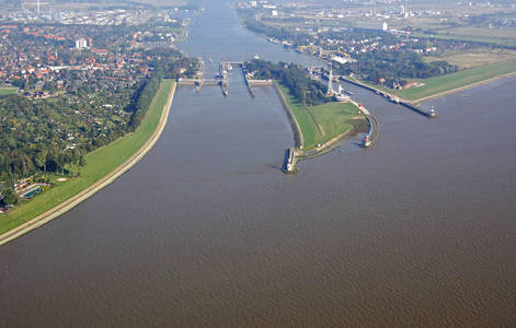 Canal Entrance New North Baltic Sea Inlet