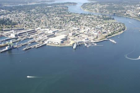 Bremerton Ferry Dock