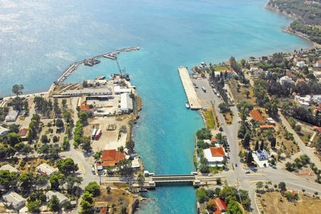Korinthos Channel South Bridge