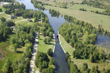 Trent River Lock 24