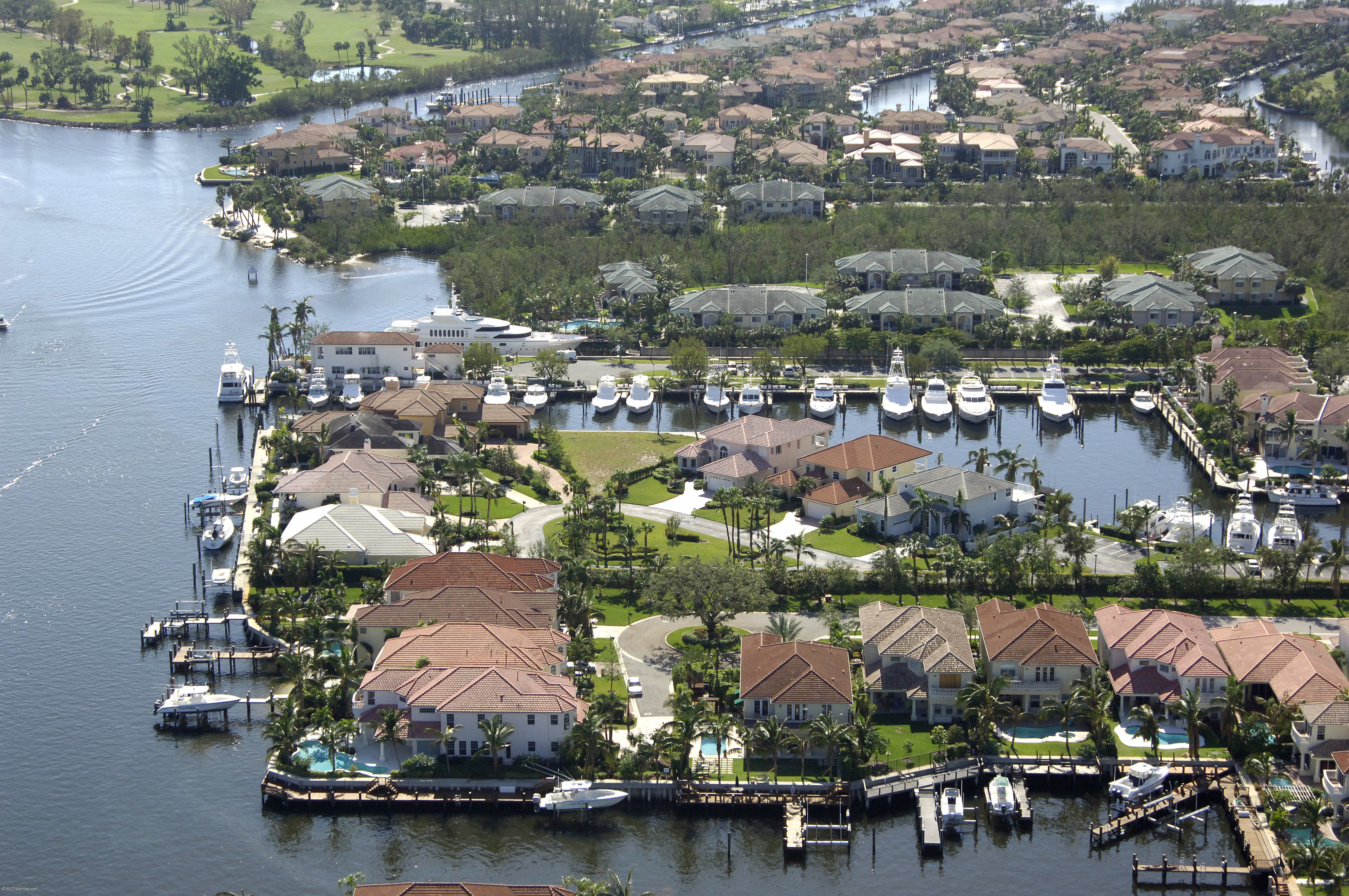 Harbour Point Marina In West Palm Beach Fl United States