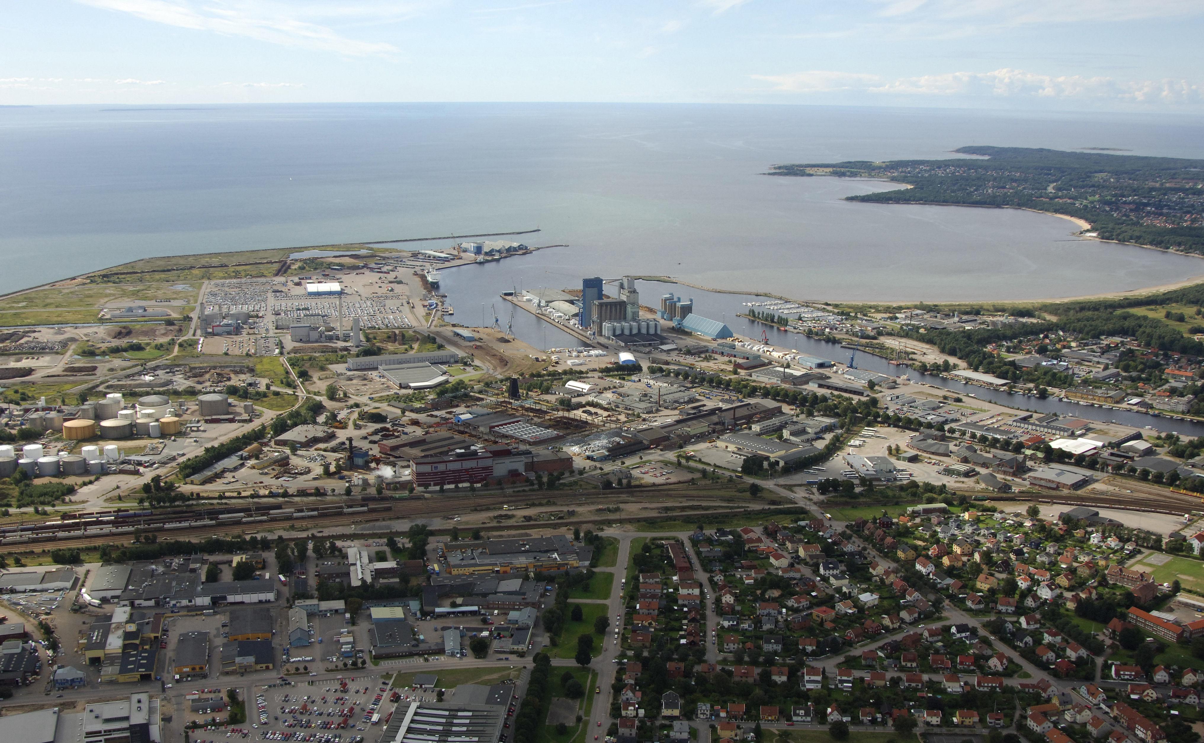 Halmstad Port Harbor in Halmstad, Sweden - harbor Reviews ...