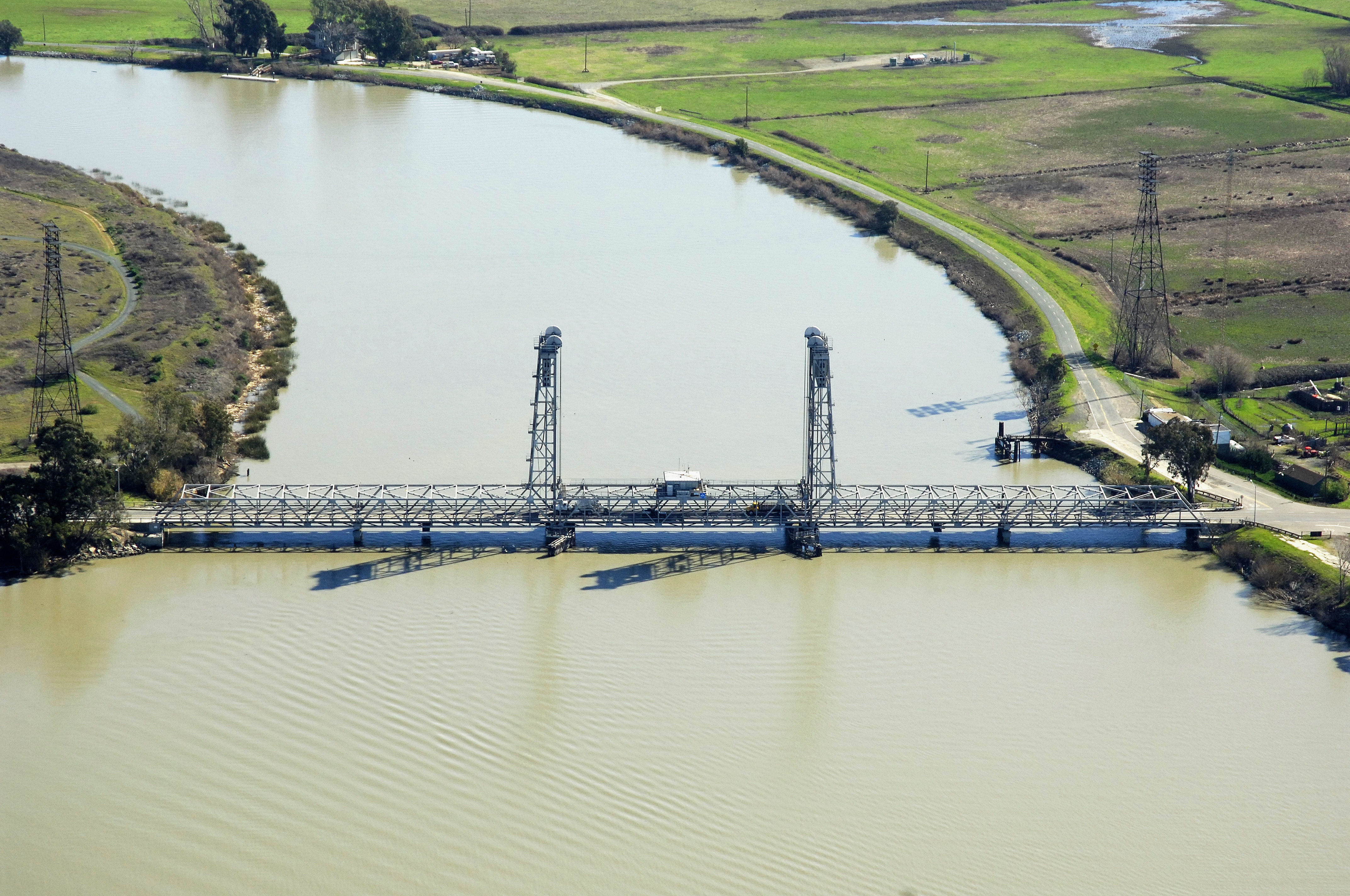Threemile slough lift bridge in ca united states bridge reviews threemile slough lift bridge geenschuldenfo Image collections