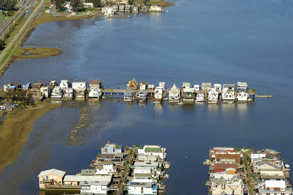 Six And A Half Floating House Docks