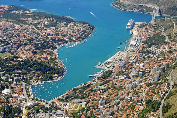 Dubrovnik Luka Gruz Inlet