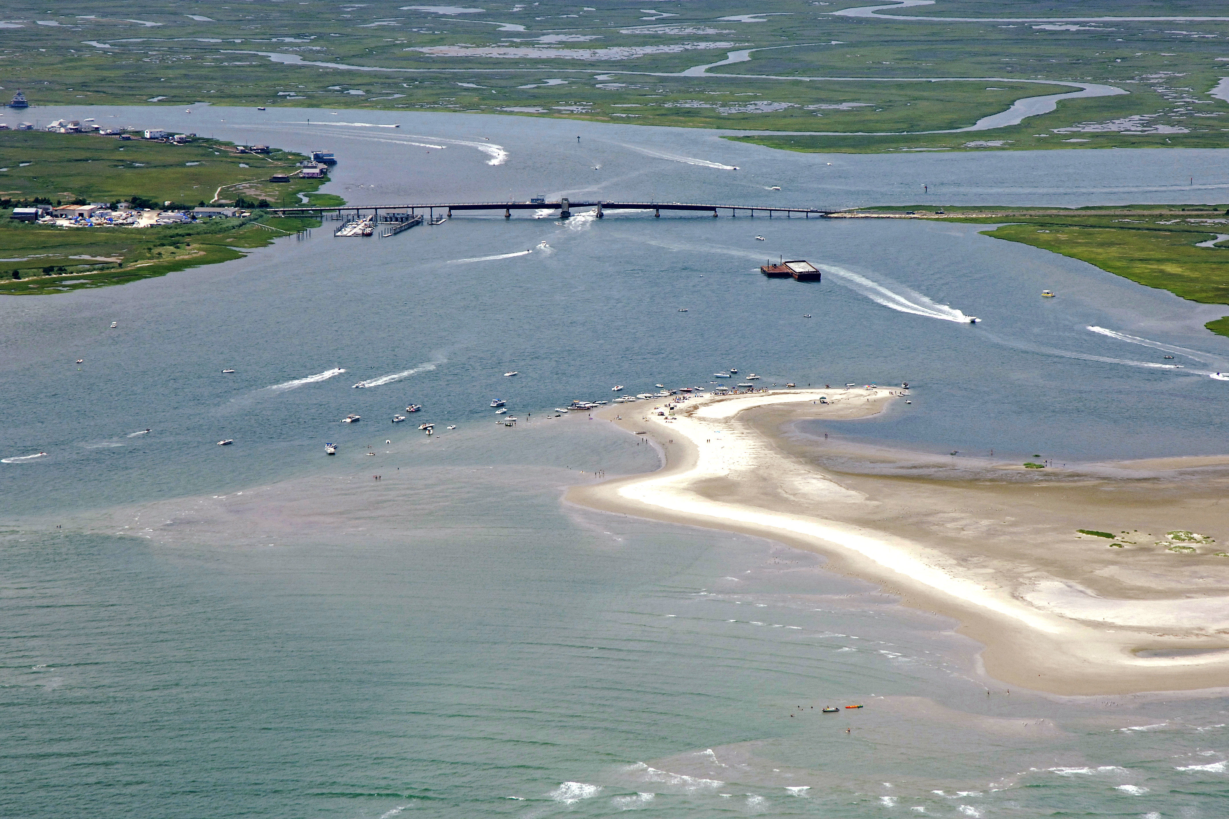 Great Egg Harbor Inlet In Longport Nj United States Inlet