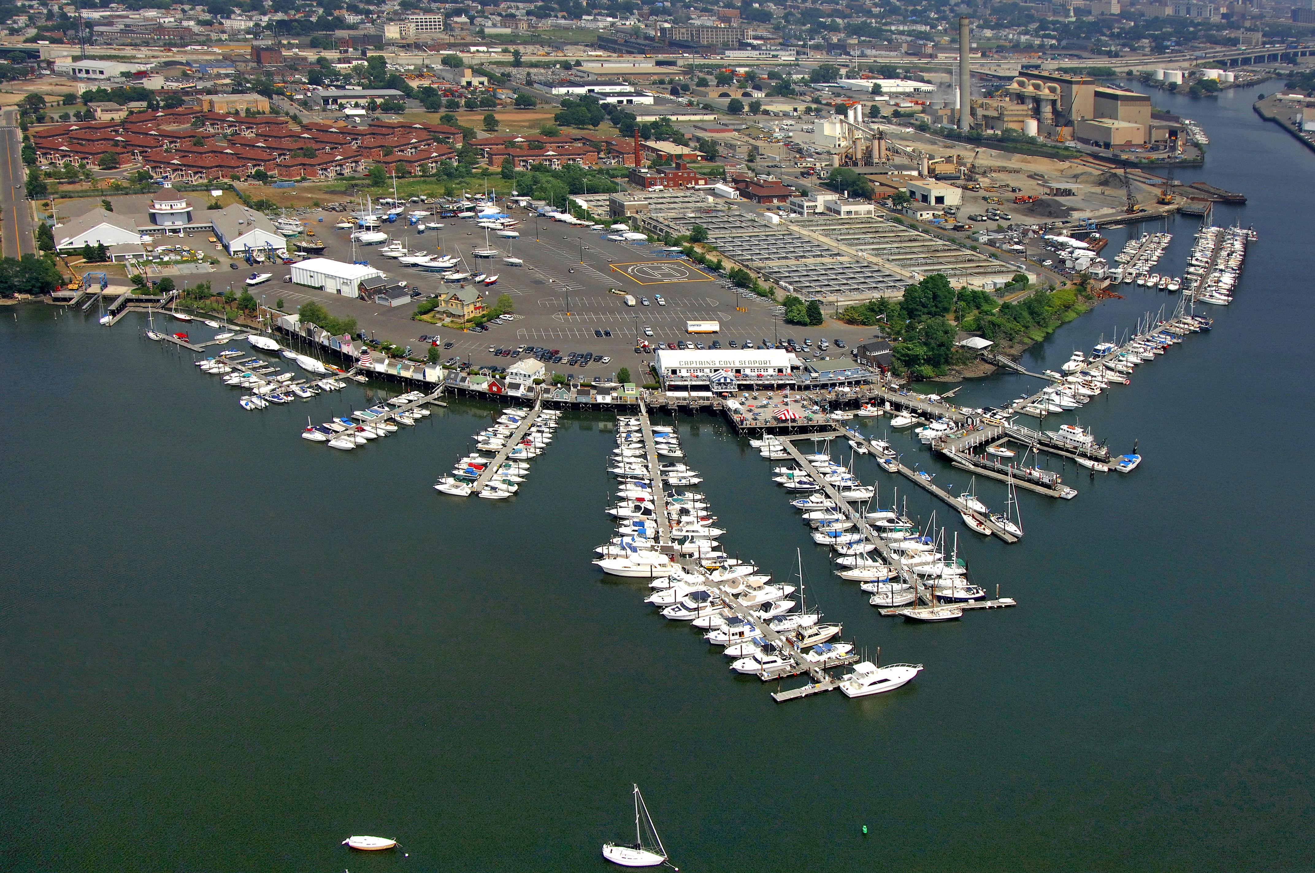 captain u0026 39 s cove seaport in bridgeport  ct  united states