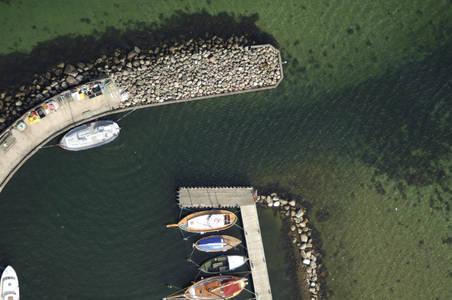 Bregnoer Fishing Harbour Inlet