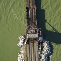 Sandusky Bay RailRoad Bascule Bridge