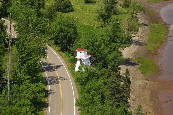 Wallace Harbour Front Range Lighthouse