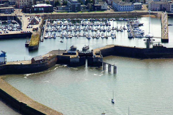 Whitehaven Harbour Lock