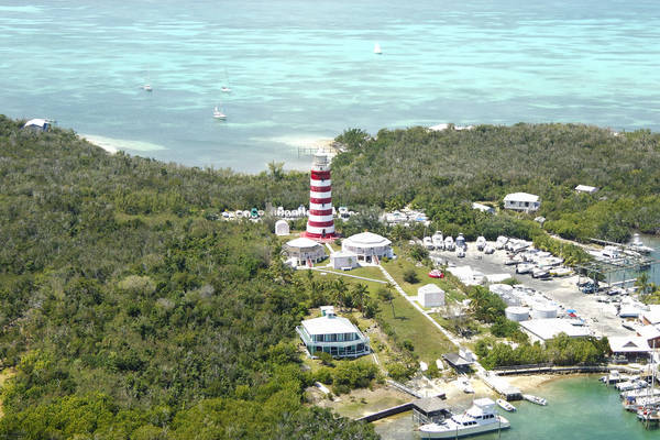"Elbow Reef Lighthouse (""Hope Town Lighthouse"")"