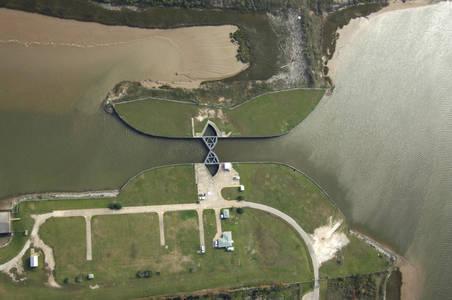 Bryan Beach Floodgate East Lock