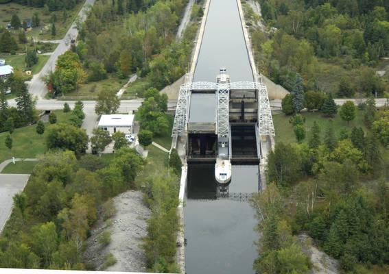 Trent River Lock 36