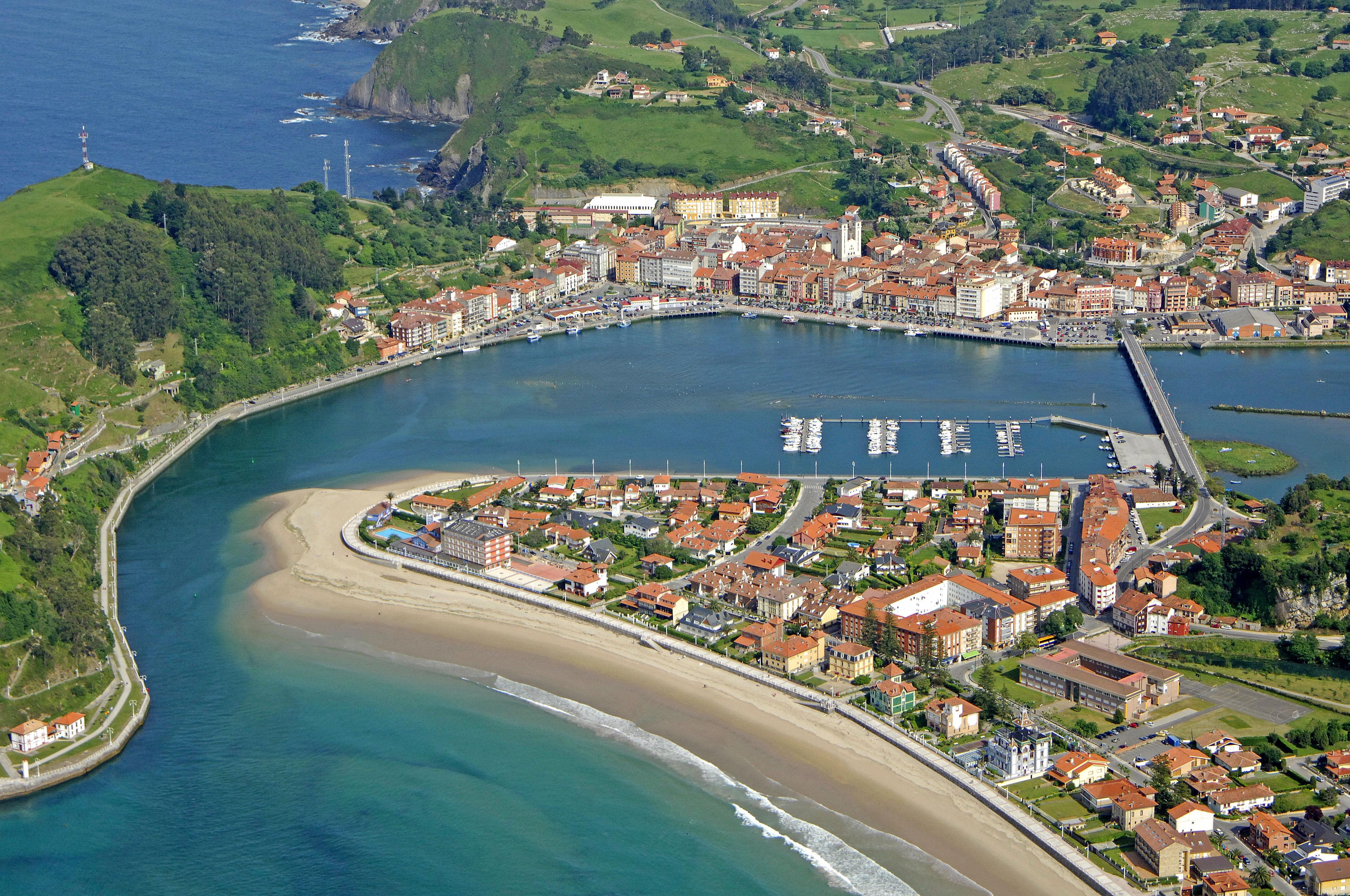 Ribadesella Marina in Ribadesella, Asturias, Spain - Marina ...