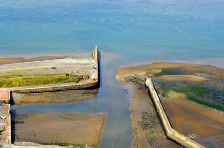 Maryport Harbour Inlet