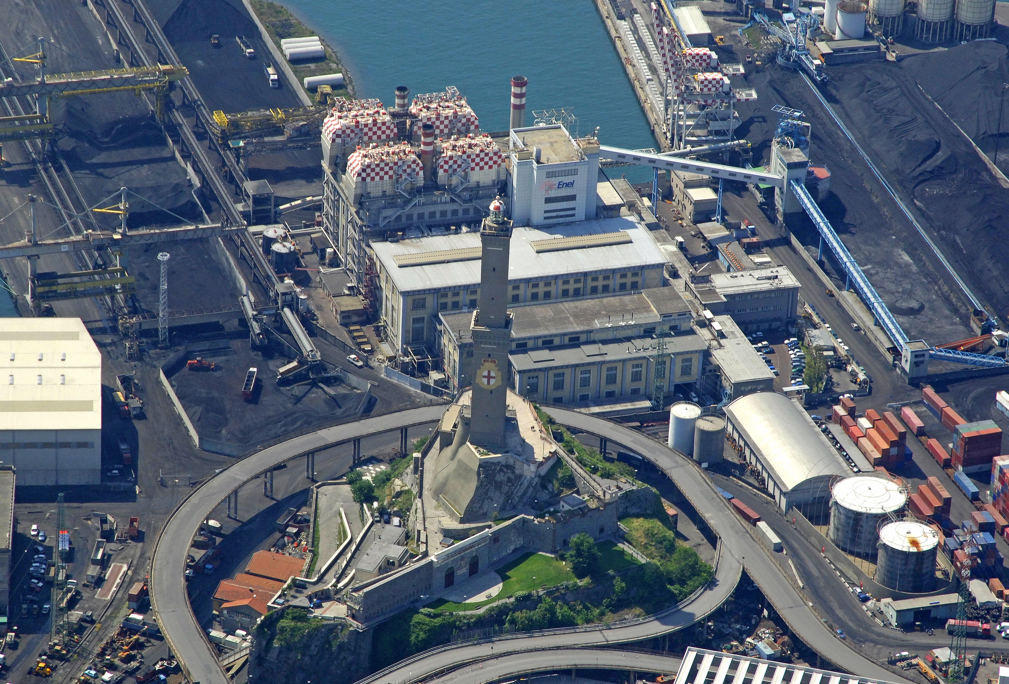 Lanterna Di Genova Light La Lanterna Genoa Lighthouse