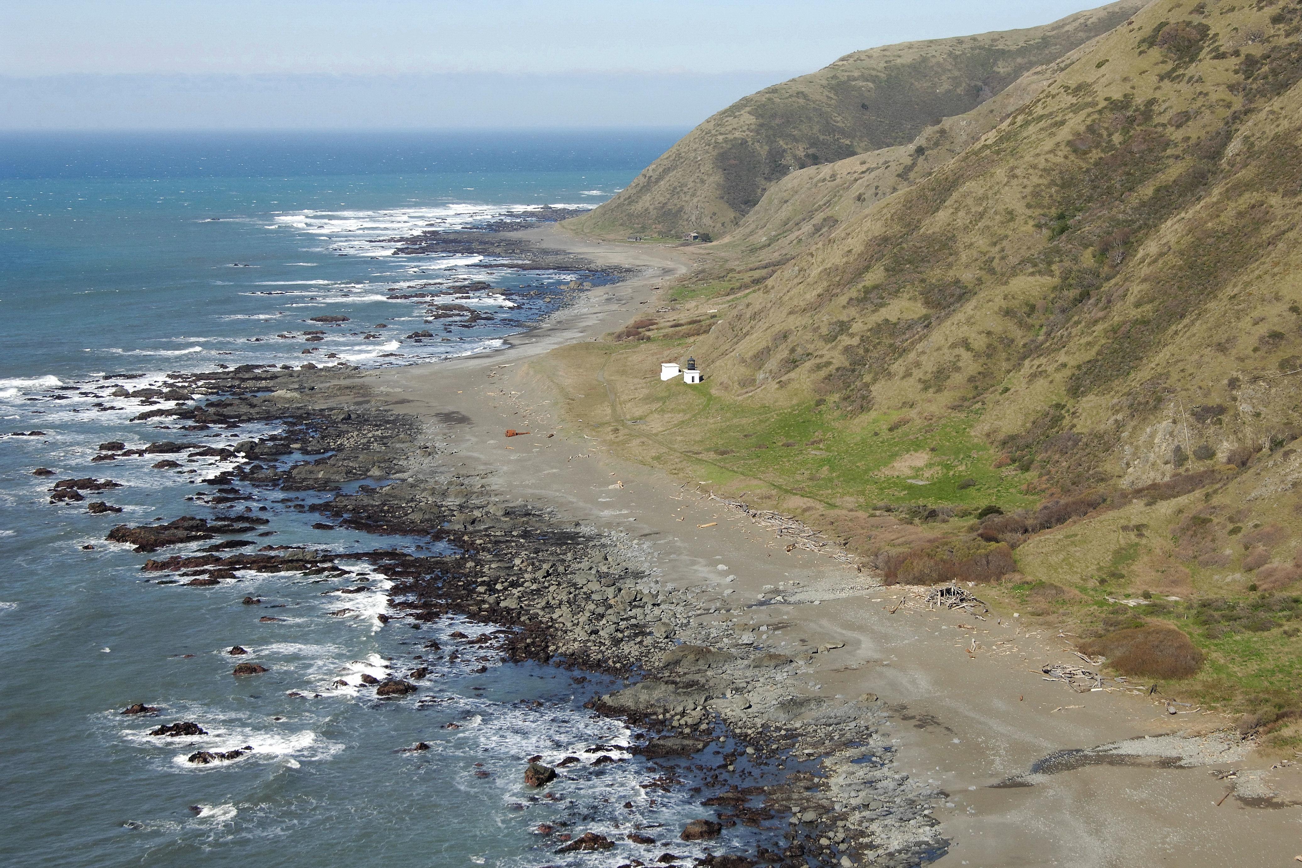 Punta Gorda Lighthouse In Ca United States Lighthouse