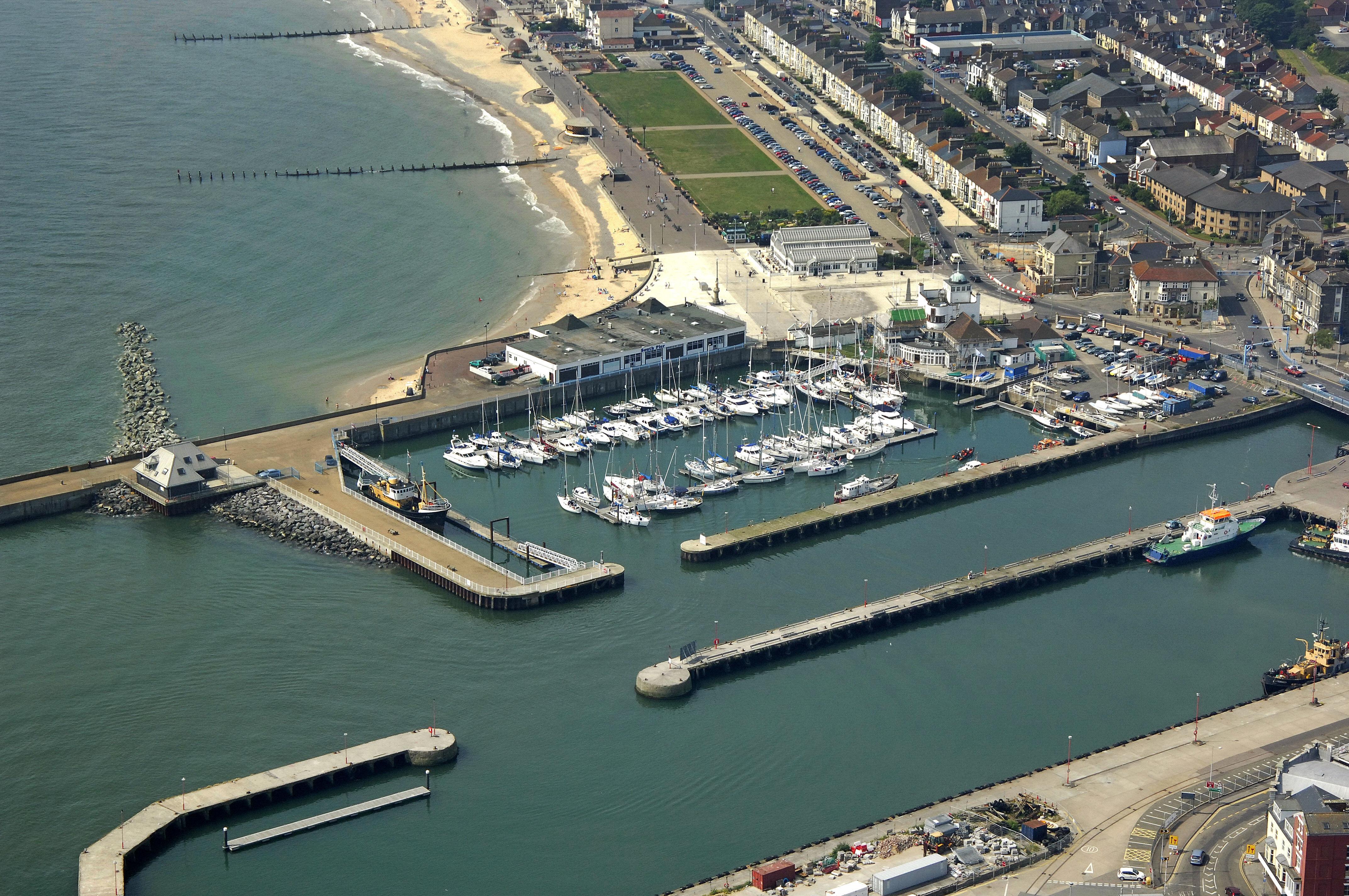 Royal Norfolk Amp Suffolk Yacht Club Marina In Lowestoft Suffolk Gb United Kingdom Marina