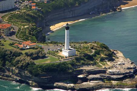 Pointe du milier lighthouse in biarritz aquitaine france - Office du tourisme biarritz telephone ...