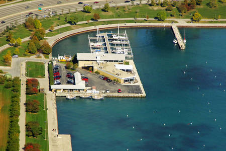Monroe Harbor, the Chicago Harbors