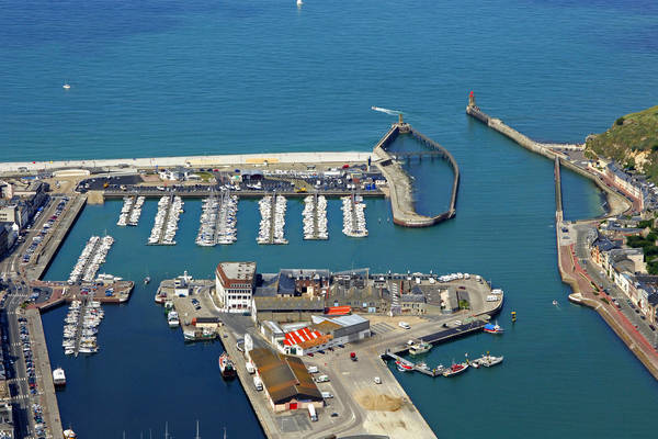 Fecamp Port Entrance Marina