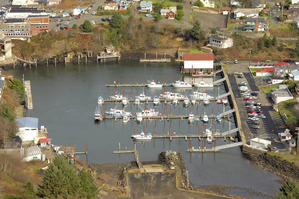 Depoe Bay Boat Harbor