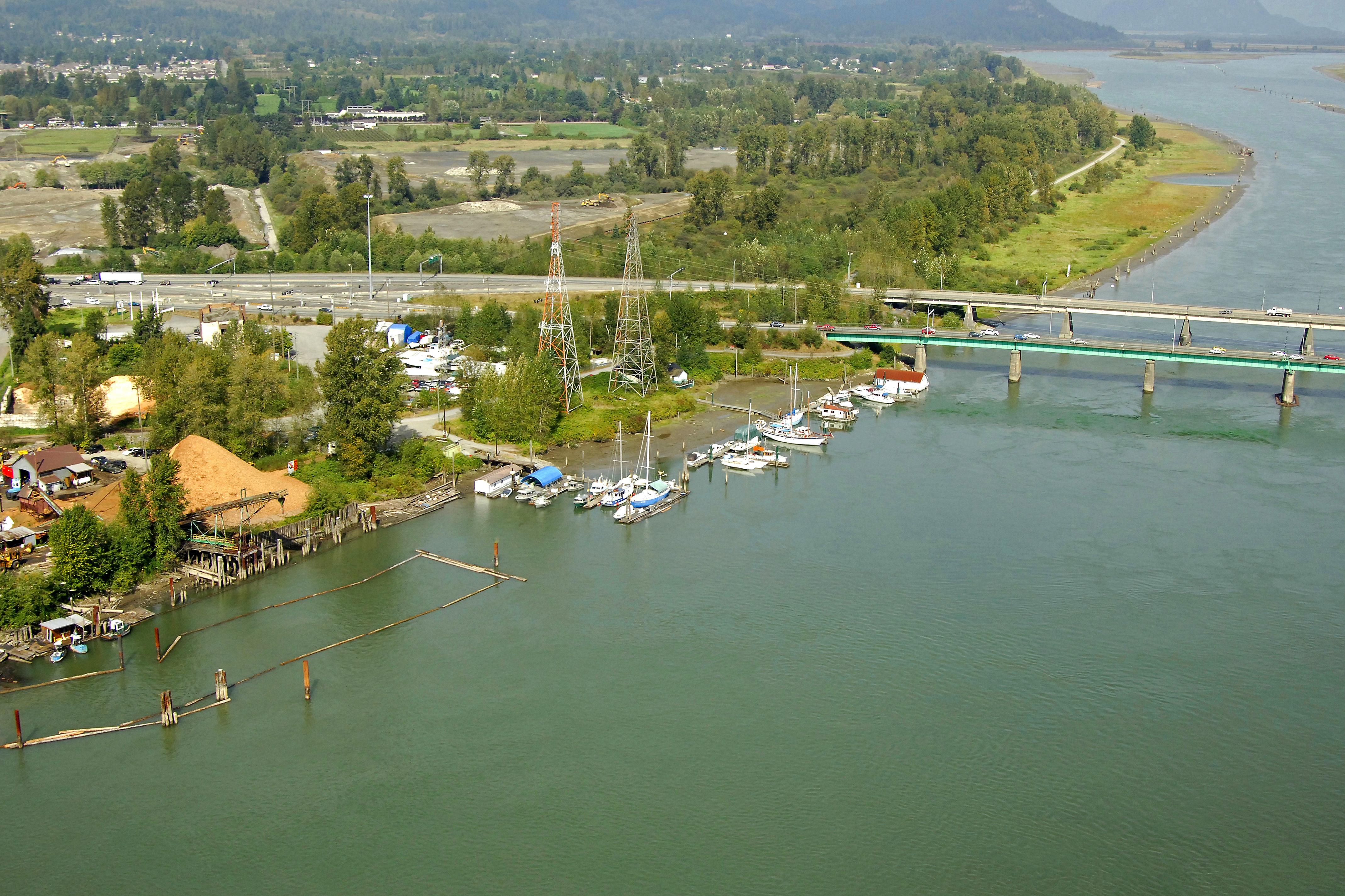 Coquitlam Weather: Pitt River Marina In Port Coquitlam, BC, Canada