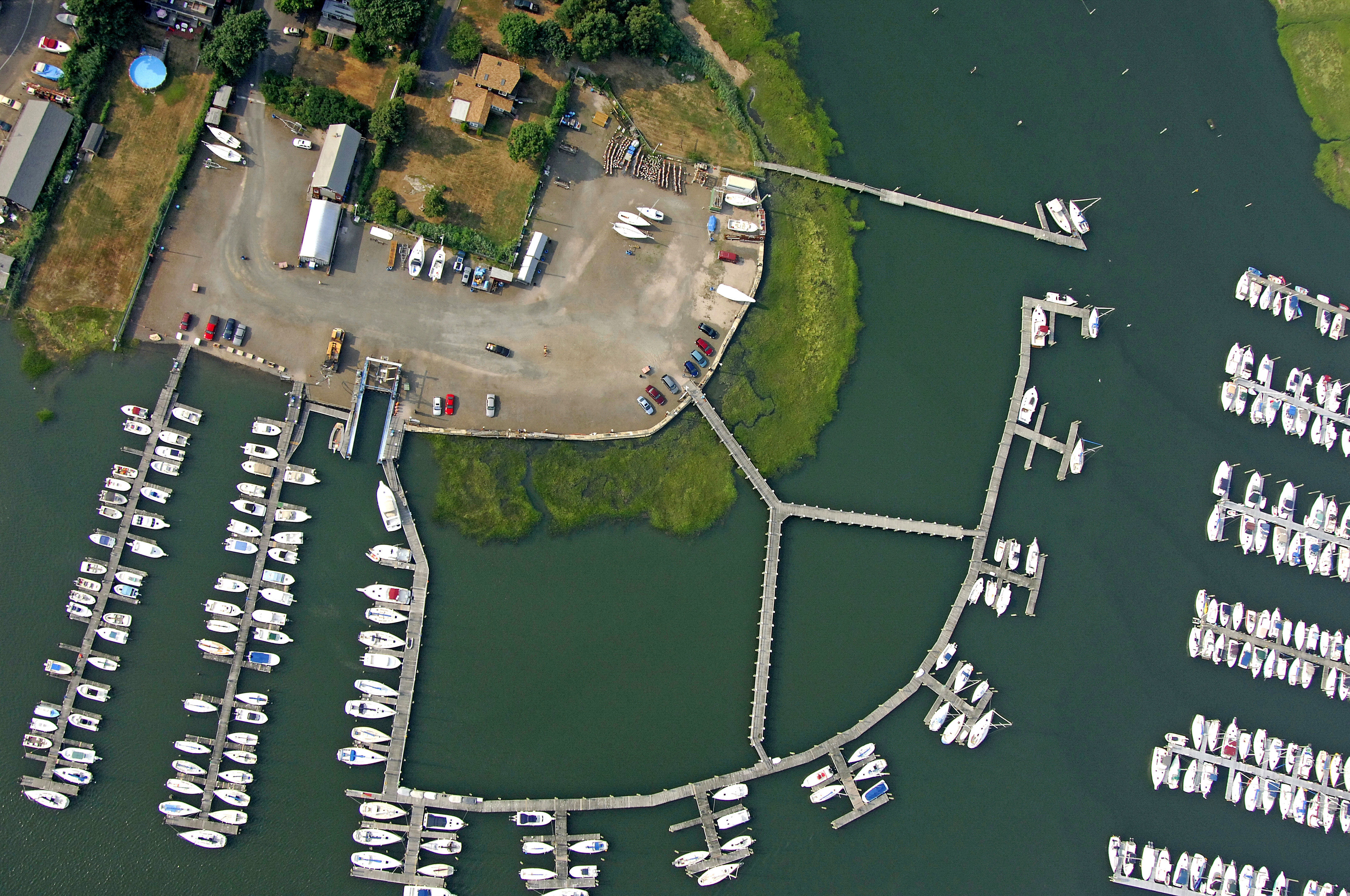 Goodsell Point Marina in Branford, CT, United States