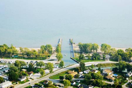 Kingsville Harbour Inlet