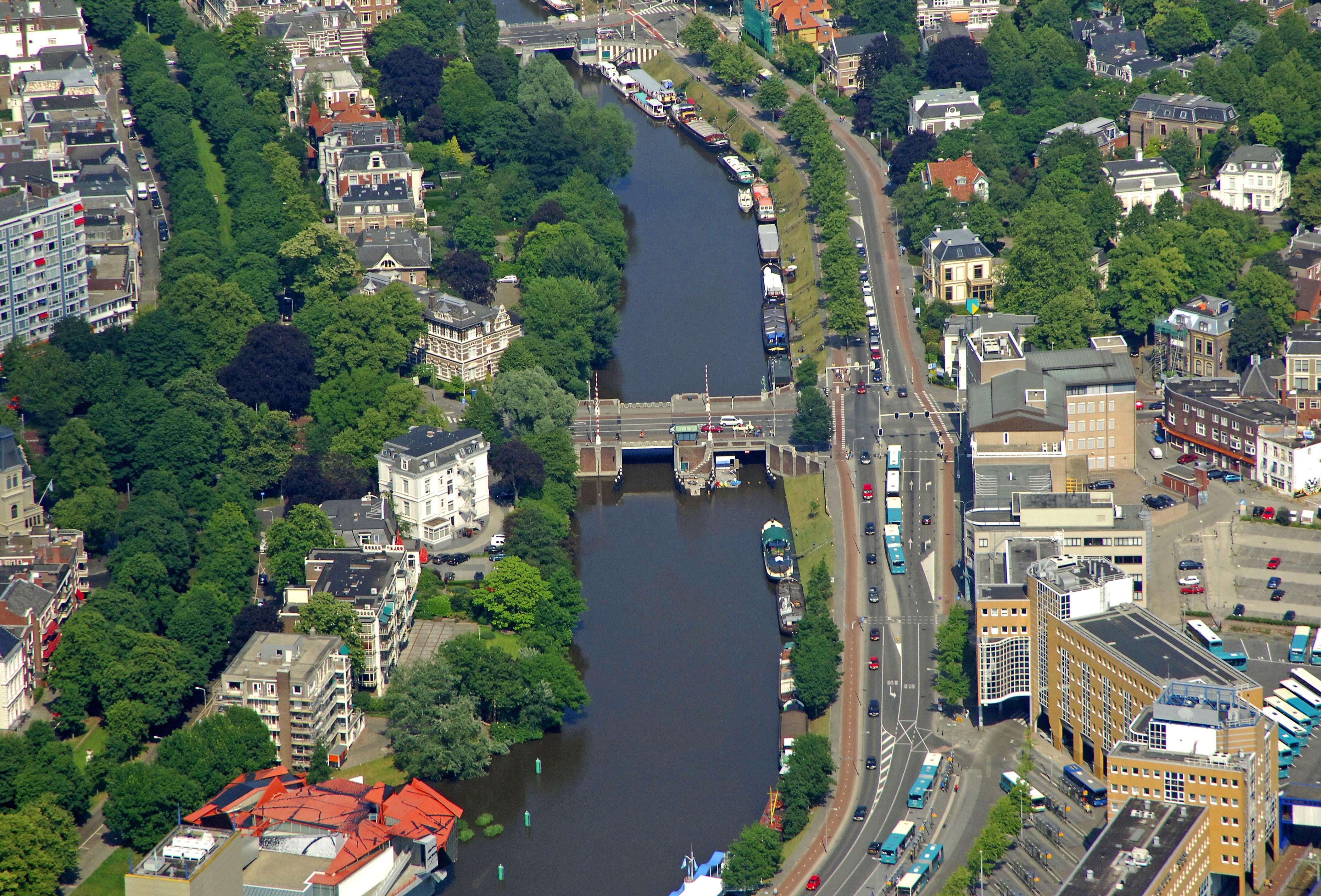 Herebrug Bridge in Groningen, Groningen, Netherlands ...