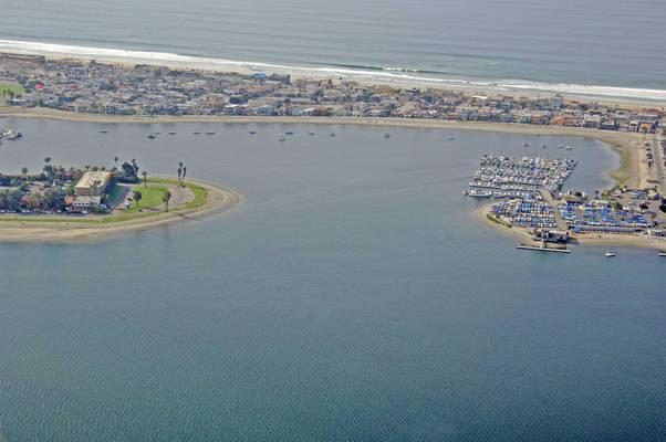 Santa Barbara Cove Inlet