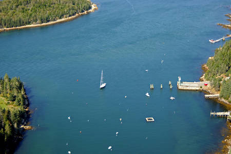 Frenchboro Harbor Inlet