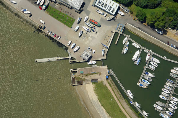 Shotley Marina Lock