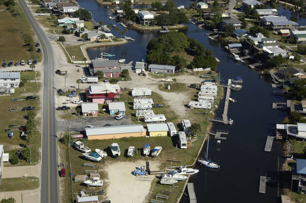 Keaton Beach Marina and Motel
