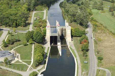 Lock 21 Peterborough Lift Lock