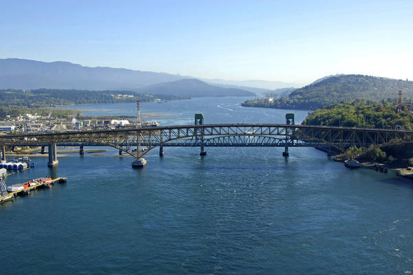 Burrard Inlet Canadian National Railway Bridge